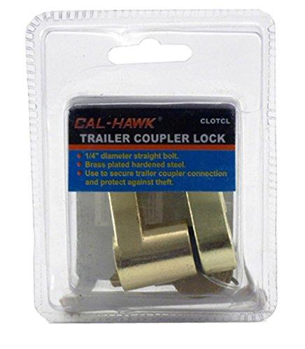 Cal Hawk Tools CLOTCL Trailer Coupler Lock by Cal Hawk Tools