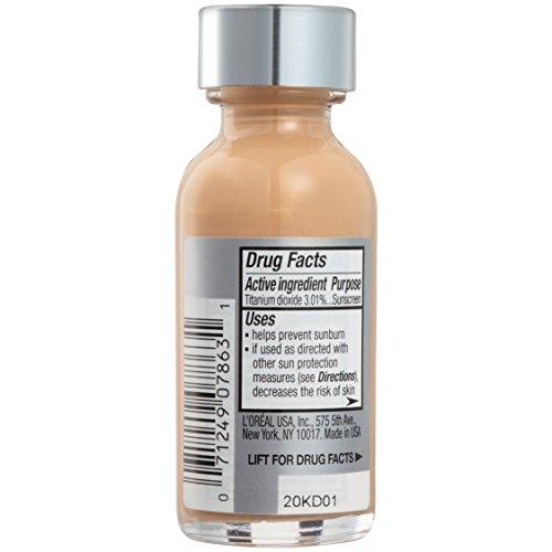 L'Oréal Paris True Match Super-Blendable Foundation Makeup, Natural Beige, 1 fl. oz.