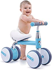 Baby Balance Bike Children Walker 10-36 Months Baby Bicycle No Padel Infant 4 Wheels Riding Toys for 1 Year Ol