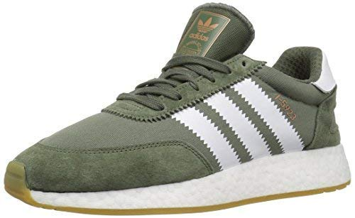 adidas Originals Men's I-5923, Black/Crystal White/Yellow, 11 M US