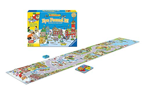 Wonder Forge Richard Scarry's Busytown, Eye Found It Toddler Toy and Game for Boys and Girls Age 3 and Up - A Fun Preschool Board Game ()