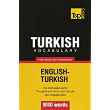 Turkish vocabulary for English speakers - 9000 words