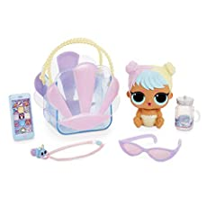 Introducing L.O.L. Surprise! Ooh La La baby surprise, featuring Lil sisters like you've never seen them before. This bigger version of Lil bon Bon comes in a fiercely fashionable candy-colored purse for you. Unbox so many makeup and wear &amp...