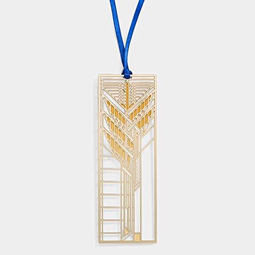 Autumn Bookmark (Autumn Sumac Bronze-Plated Brass Bookmark - MoMA)