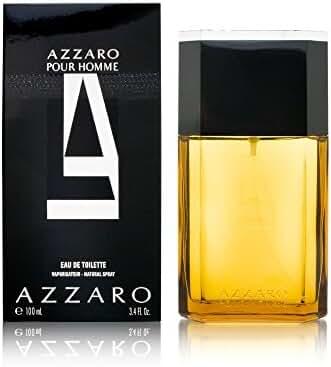 AZZARO Eau de Toilette Spray for Men, 3.3 Ounce