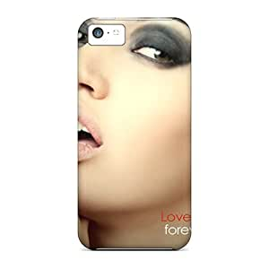 Personality customization Iphone 5c Love Print High Quality Gel Frame Case Cover By LINtt Cases