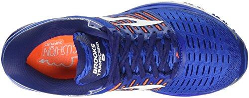 Brooks Transcend 5, Scarpe da Running Uomo Blu (Blue/Orange/White 1d463)