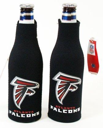 SET OF 2 ATLANTA FALCONS NFL BOTTLE SUIT KOOZIES Review