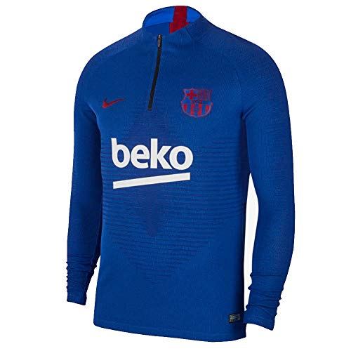 (Nike 2019-2020 Barcelona Strike Vaporknit Drill Top (Blue))
