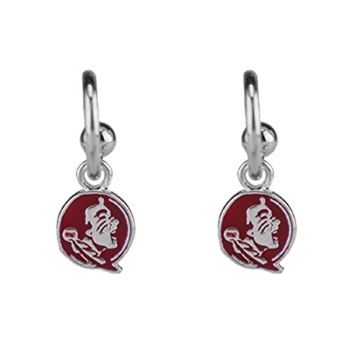 SANDOL Florida State Seminoles Dangle Logo Earrings (Charm Florida Seminoles State Logo)