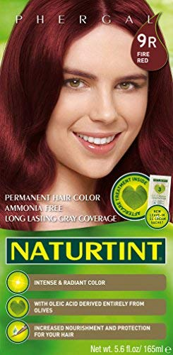 Naturtint Permanent Hair Color - 9R Fire Red, 5.6 fl oz (6-pack)