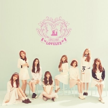 LOVELYZ Single Album - Lovelinus CD + Poster(Folded) (+With Store Gifts : 1 Printed Photocard + Mini Photo + Handmade Sticker) (Handmade Folded)