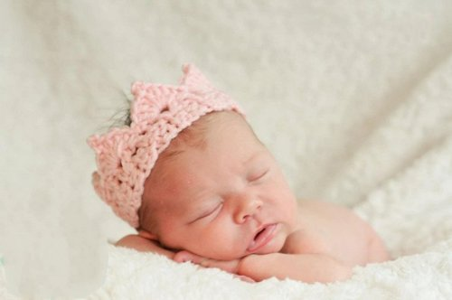 New Handmade Newborn Baby Girl Boy crochet Knit Crown Hat Photography Prop Switty