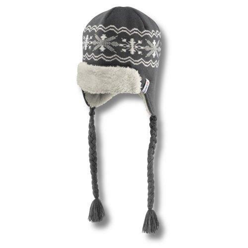 Carhartt Winter Knit Hat (Carhartt Women's  Knit Earflap Hat,Coal  (Closeout),One Size)