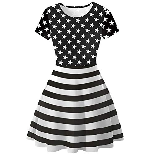 A6 Women S Sleeveless Time Adventure Froomer Galaxy Dress Clubwear Skater 2XL Dress P1wpwq48