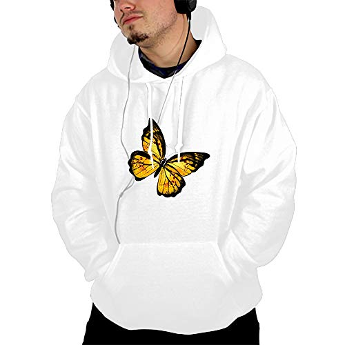 CHINITH Yellow Butterfly Female Hoodie Tracksuit Sweat Coat Casual Sportswear