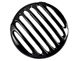 Rudyness Black Headlight Grill Cover for 2017-2019