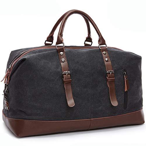 MEWAY Travel Overnight Bag Canvas Duffle Bag Oversized Luggage Bag Large Handbag for Men Women