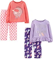 Simple Joys by Carter's Toddler Girls' 4-Piece Fleece Pa