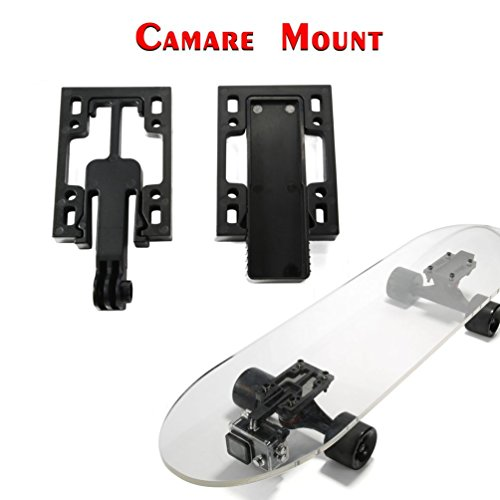 Luckday Adjustable Gopro Skateboard Riser Camera Mount with - Hello Kitty Skateboard Deck