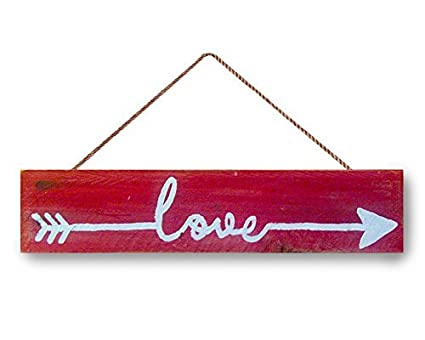 Amazon Com Love Sign Tribal Arrows Sign Valentine S Day Gift Red