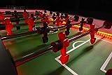 Warrior Table Soccer Professional Foosball Table, LED Enhanced