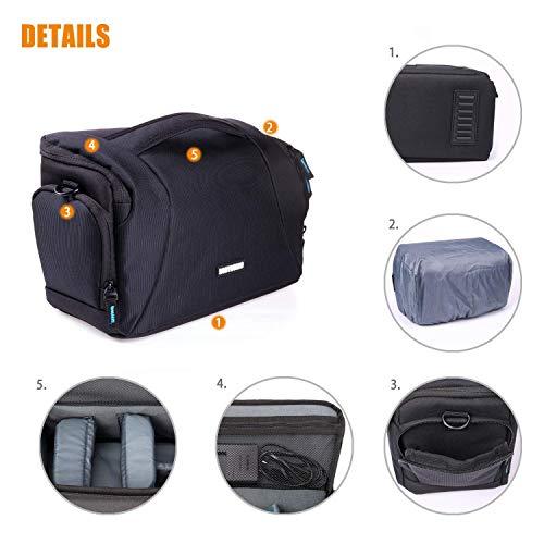 Bolsa de Paquete EOS para Canon SLR Camera EOS 4000D 2000D 1300D ...
