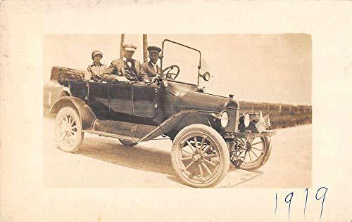 Brady Alabama People Automobile Car Real Photo Vintage Postcard JJ649344