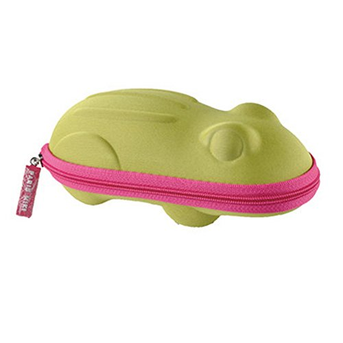 Creative Cartoon Form Perfect Sunglasses/Eyeglasses Case For Kids - Animal Green from Kylin Express