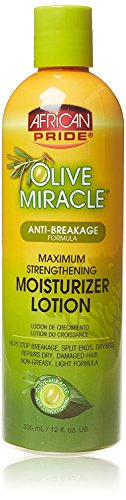 African Pride Olive Miracle Moisturizer Lotion 12 ()