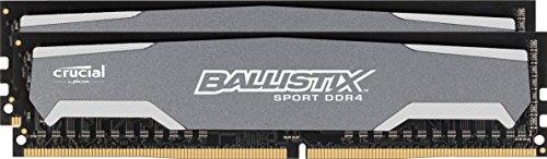 Ballistix Sport 16GB Kit (8GBx2) DDR4 2400MHz (PC4-19200) DIMM - ()
