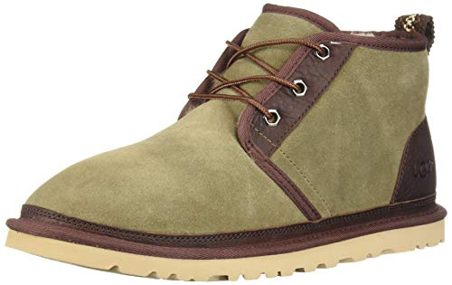 UGG Men's Neumel Two-Toned Chukka Boot, Taupe, 10 M US