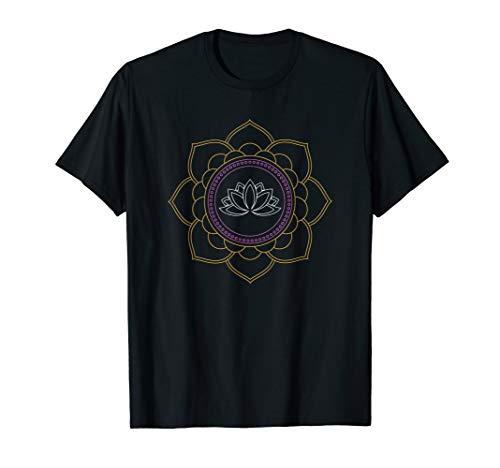 Lotus Flower Yoga Meditation Om T-Shirt ()