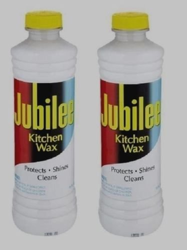 2 15 oz jubilee kitchen wax cleaner protects shines multi room surface new - Jubilee Kitchen Wax