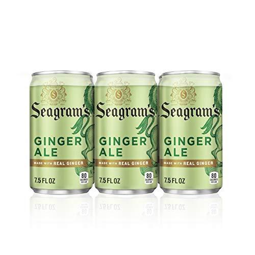 Seagram's Ginger Ale, 7.5 fl oz, 6 Pack