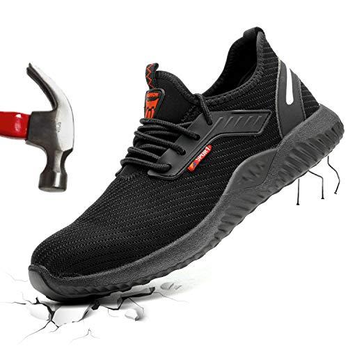 Barerun Steel Toe Shoes Men