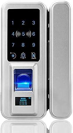 Keyless Locks for Glass Door POINT-T Digital Doorlock Security Entry Touch Key