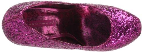 06GW Hot Teeze Glitter Women's Pleaser Pink FqYAwA