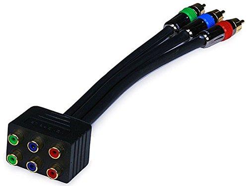 Component Premium 3 (Monoprice 102899 PREMIUM 3-RCA RGB RG-6/u Component Video Splitter (102899))
