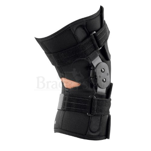 Breg ShortRunner Knee Brace (Small - Neoprene - Wraparound - Open Back) by Breg (Image #2)