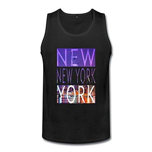 - DASYmenNew York City Tank TopLarge Black