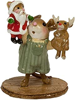 product image for Wee Forest Folk M-657b The Santa and Rudy Show - Boy (New 2018)