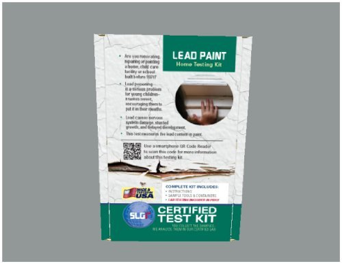 Lead Test Kit in Paint, Dust, or Soil 5PK (5 Bus. Days) Schneider Labs ()