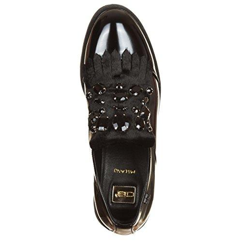 Lacets Noir Zerosei EU 35 de Ville à Milano Noir Noir pour Chaussures Femme aa6BRzqX