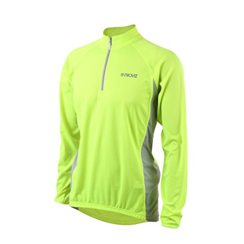 (Proviz Long Sleeve Top, Safety Yellow, Large - PVLSJ1M)