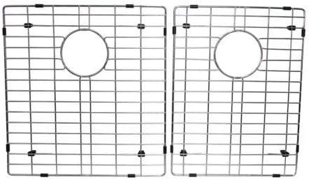 BOANN UMR3219D2 Hand Made R15 60 40 Double Bowl 32 x 19-Inch Undermount 304 Stainless Steel Kitchen Sink, 16-Gauge