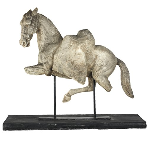 A&B Home AV75750 Altus Equine Figure on Stand, 35 by 10 by 3