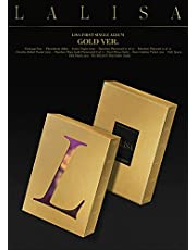BLACKPINK LISA LALISA First Single Album [ GOLD ] Ver. 1ea CD+88p Photo Book+1ea Lyrics Paper+1ea Photo Card+1ea Polaroid Card+1ea Double-Sided Poster(On pack)+1ea Pre-Order Item