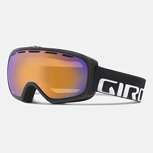 Giro Basis Goggle - Black Wordmark Frame with Persimmon Boost - Carl Zeiss Goggles