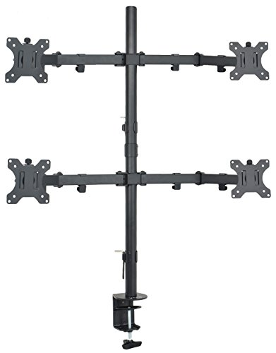 VIVO Quad LCD Monitor Desk Mount Stand Heavy Duty Fully Adju